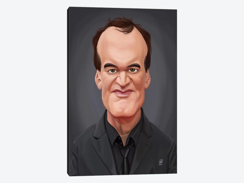 Quentin Tarantino by Rob Snow 1-piece Canvas Wall Art