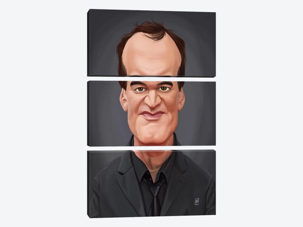 Quentin Tarantino by Rob Snow 3-piece Canvas Art