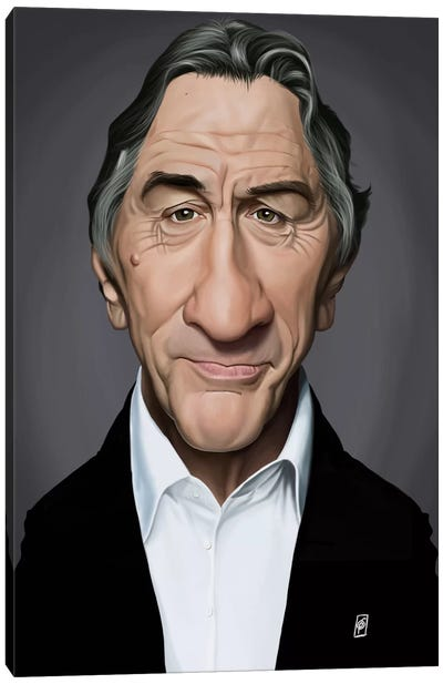 Celebrity Sunday Series: Robert De Niro Canvas Art Print