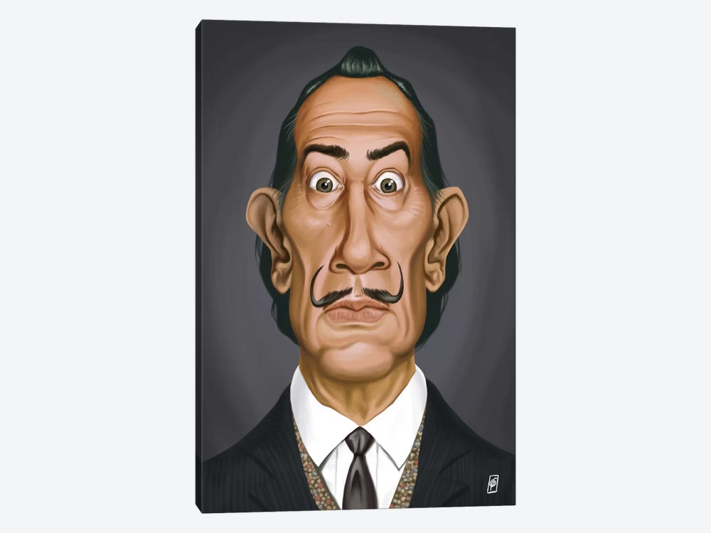 Salvador Dali II by Rob Snow 1-piece Canvas Art