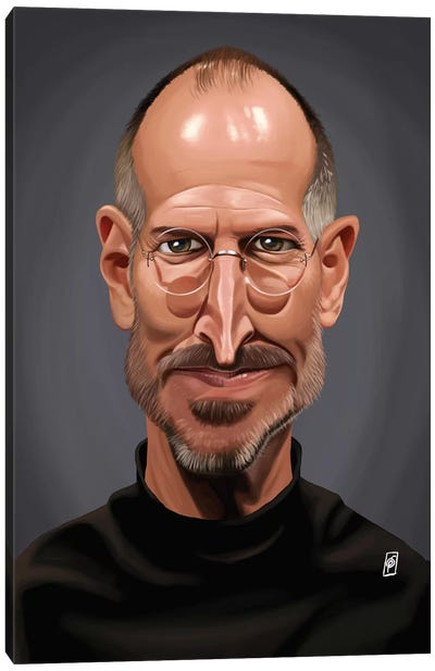 Celebrity Sunday Series: Steve Jobs Canvas Art Print
