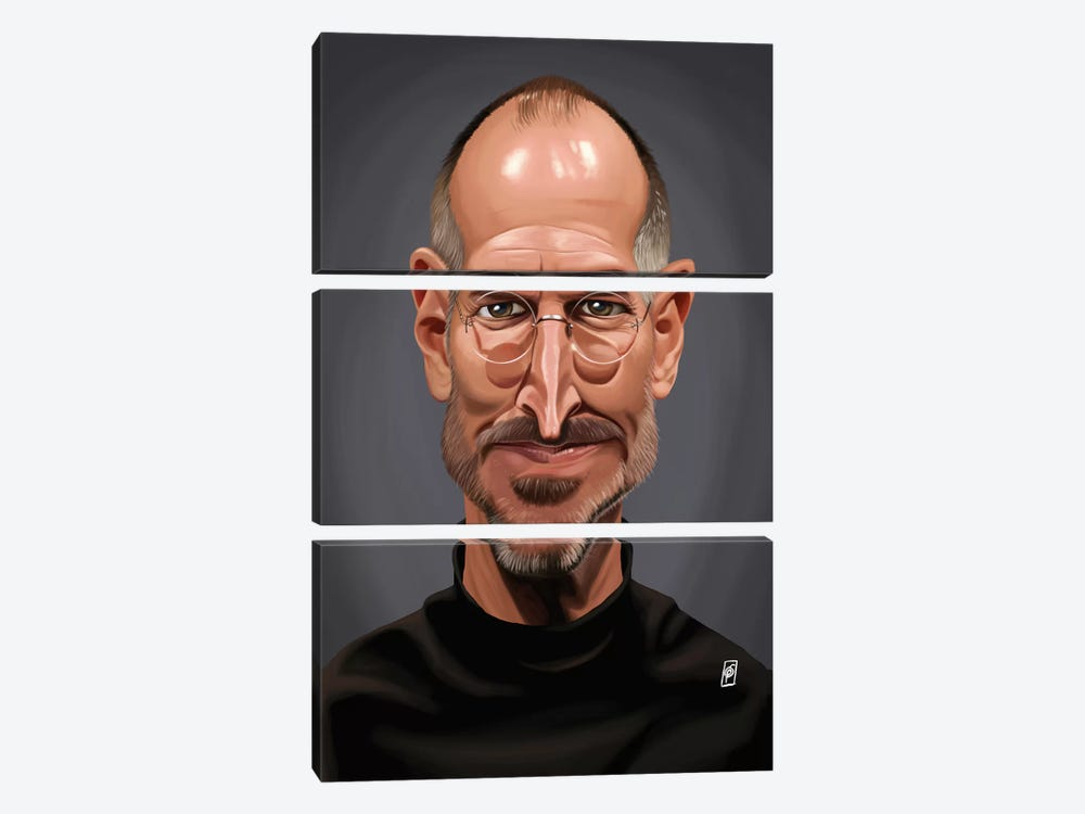 Celebrity Sunday Series: Steve Jobs by Rob Snow 3-piece Art Print