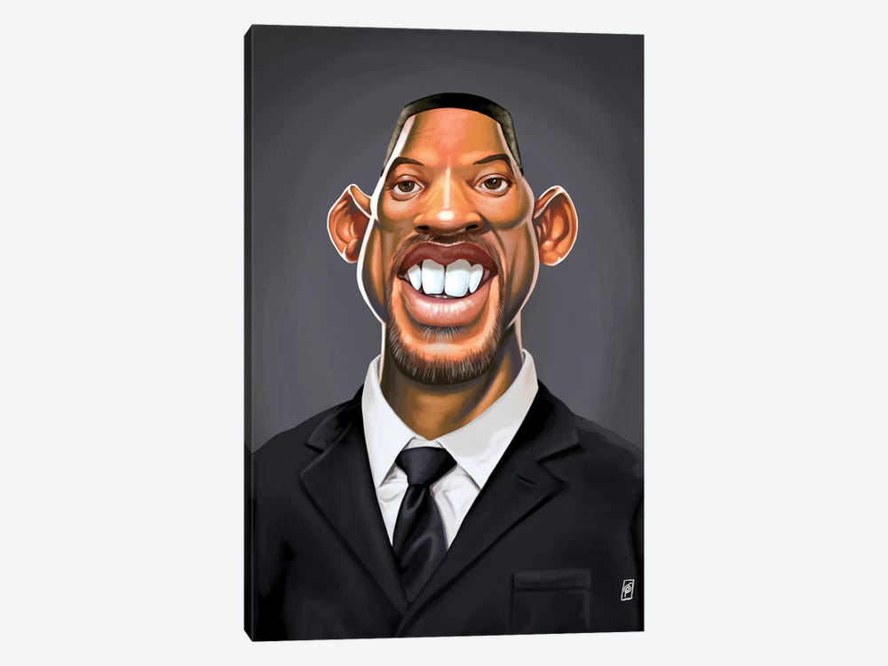 Will Smith by Rob Snow 1-piece Canvas Art