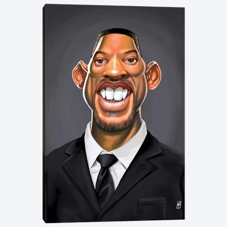 Will Smith Canvas Print #RSW173} by Rob Snow Art Print