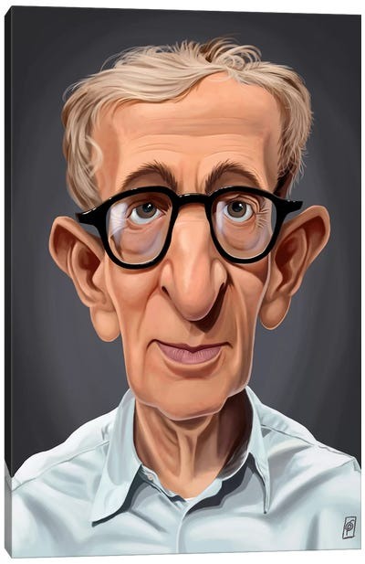 Woody Allen Canvas Art Print