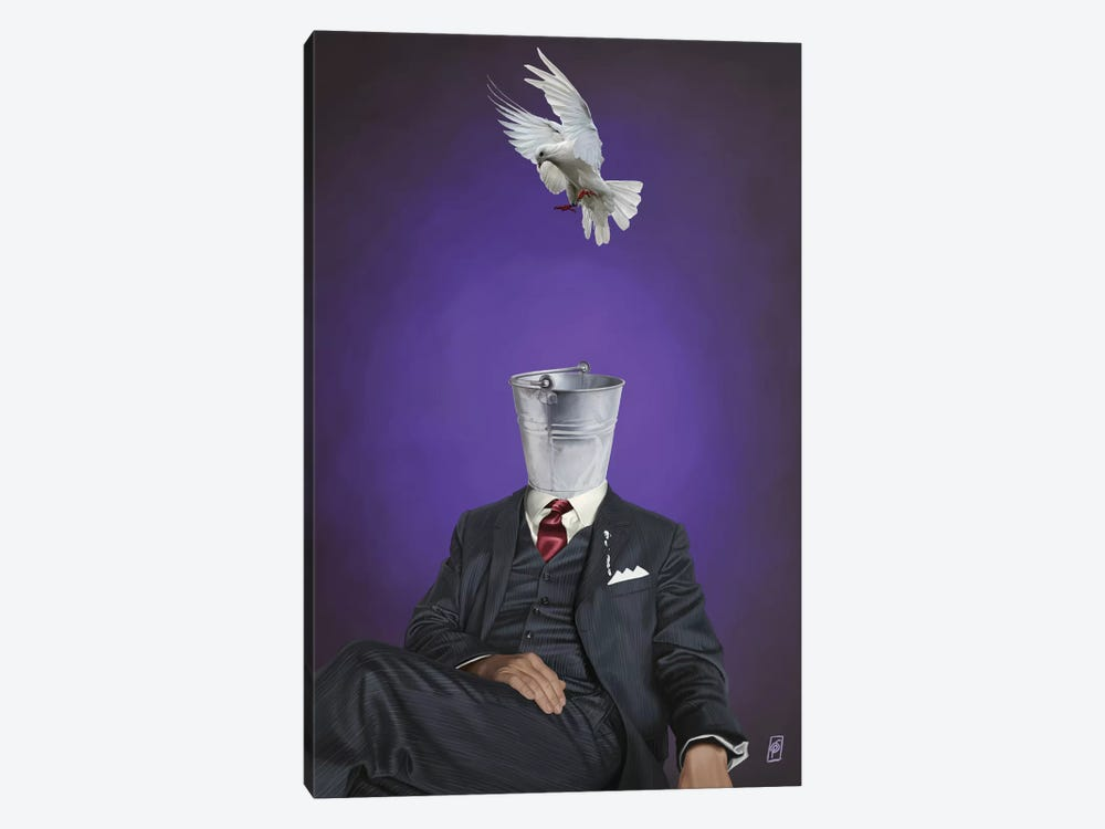 Suited Series: Capture by Rob Snow 1-piece Canvas Wall Art