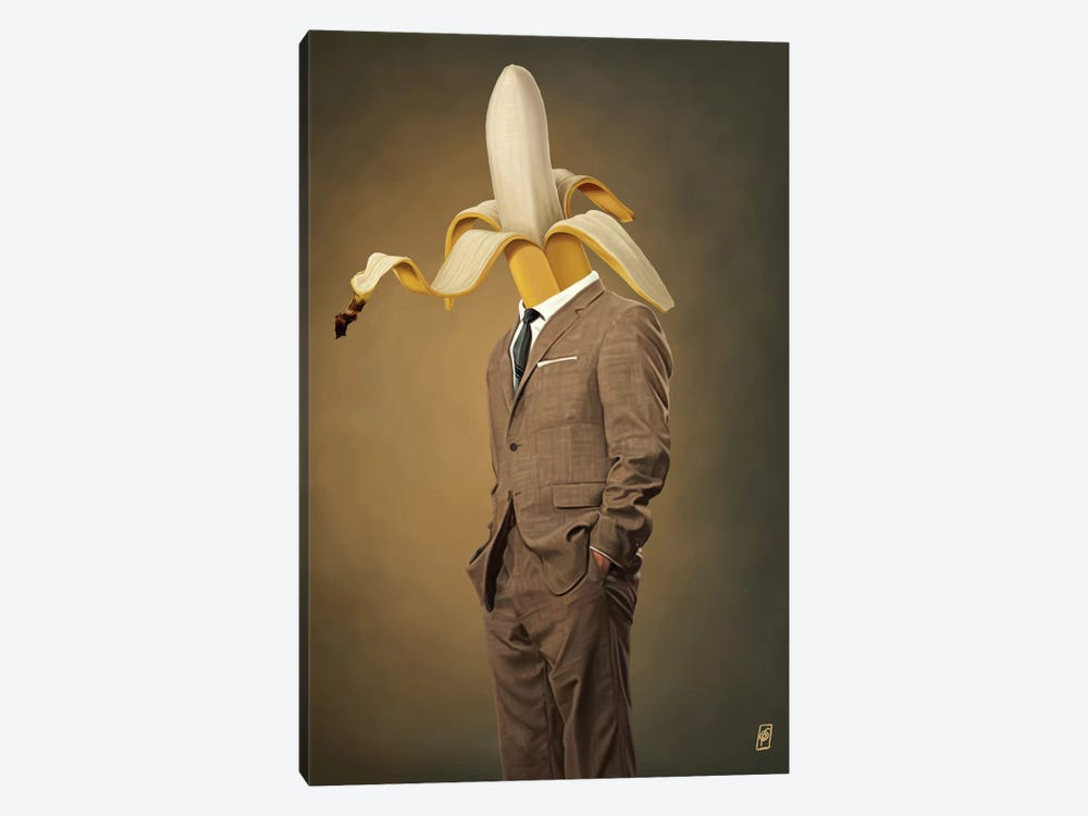 Suited Series: Peeled by Rob Snow 1-piece Canvas Print