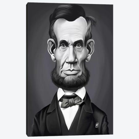 Abraham Lincoln Canvas Print #RSW185} by Rob Snow Canvas Print