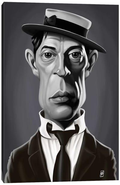 Buster Keaton Canvas Art Print