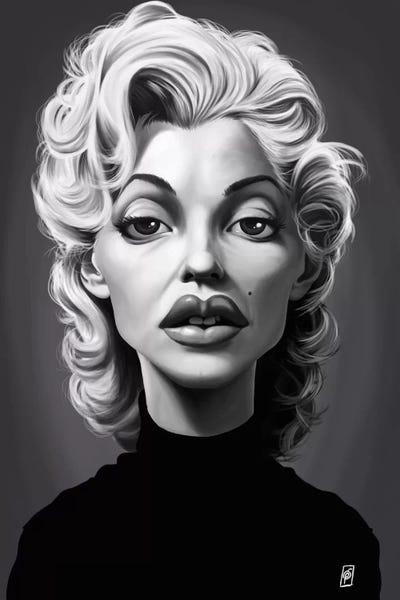 Marilyn Monroe Art Print by Rob Snow   iCanvas