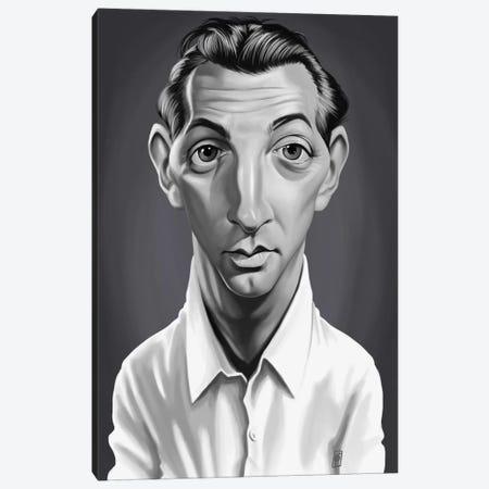 Robert Mitchum Canvas Print #RSW194} by Rob Snow Canvas Art