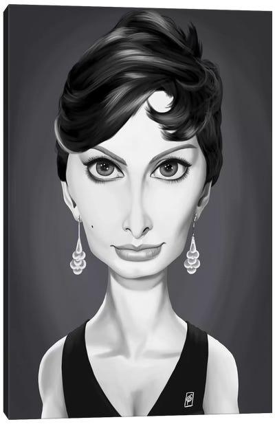 Vintage Celebrity Sunday Series: Sophia Loren Canvas Print #RSW195