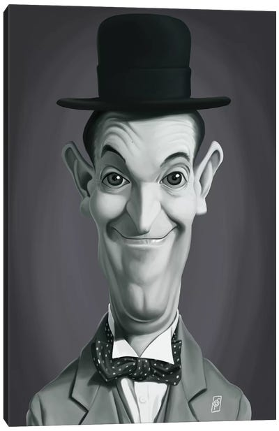 Stan Laurel Canvas Art Print
