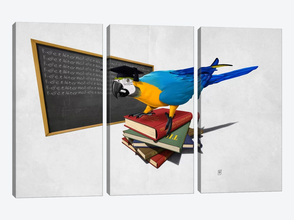 Repeat II by Rob Snow 3-piece Canvas Art Print