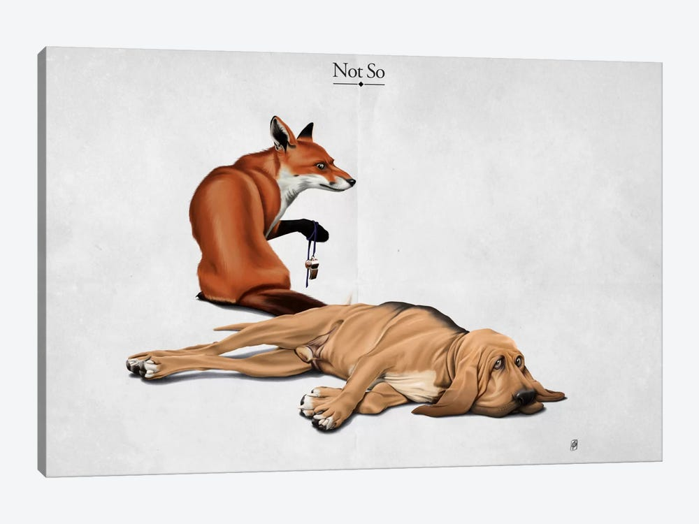 Not So I by Rob Snow 1-piece Canvas Artwork