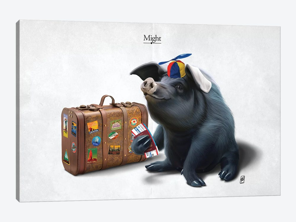 Might I by Rob Snow 1-piece Canvas Art