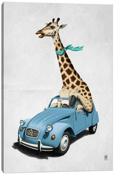 Riding High! II Canvas Art Print