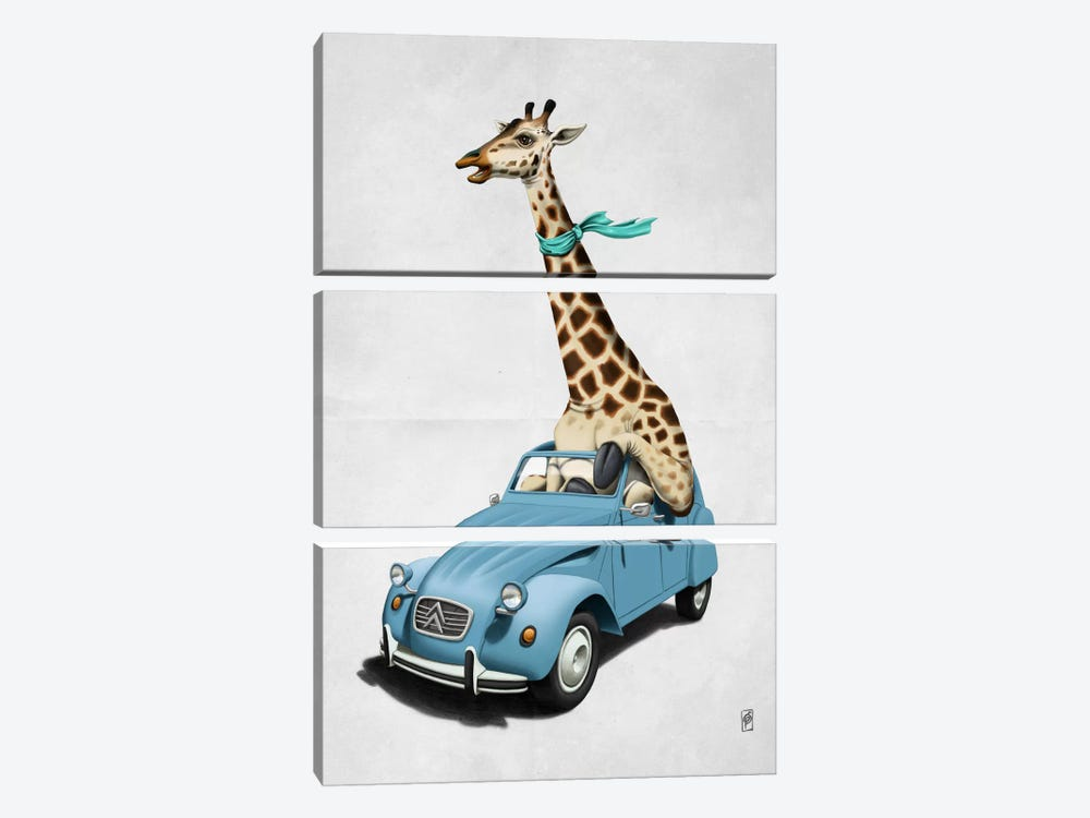 Riding High! II by Rob Snow 3-piece Canvas Art Print
