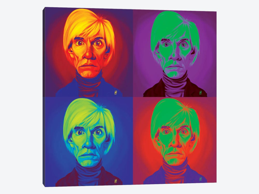 Andy Warhol On Andy Warhol by Rob Snow 1-piece Art Print