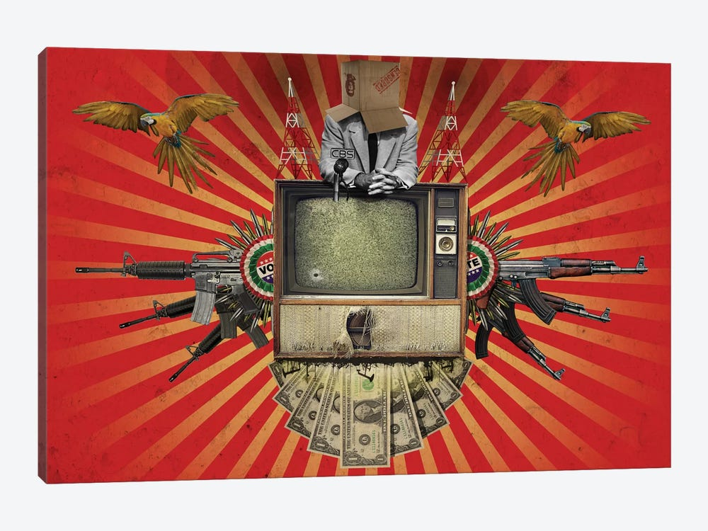 Revolution by Rob Snow 1-piece Canvas Art
