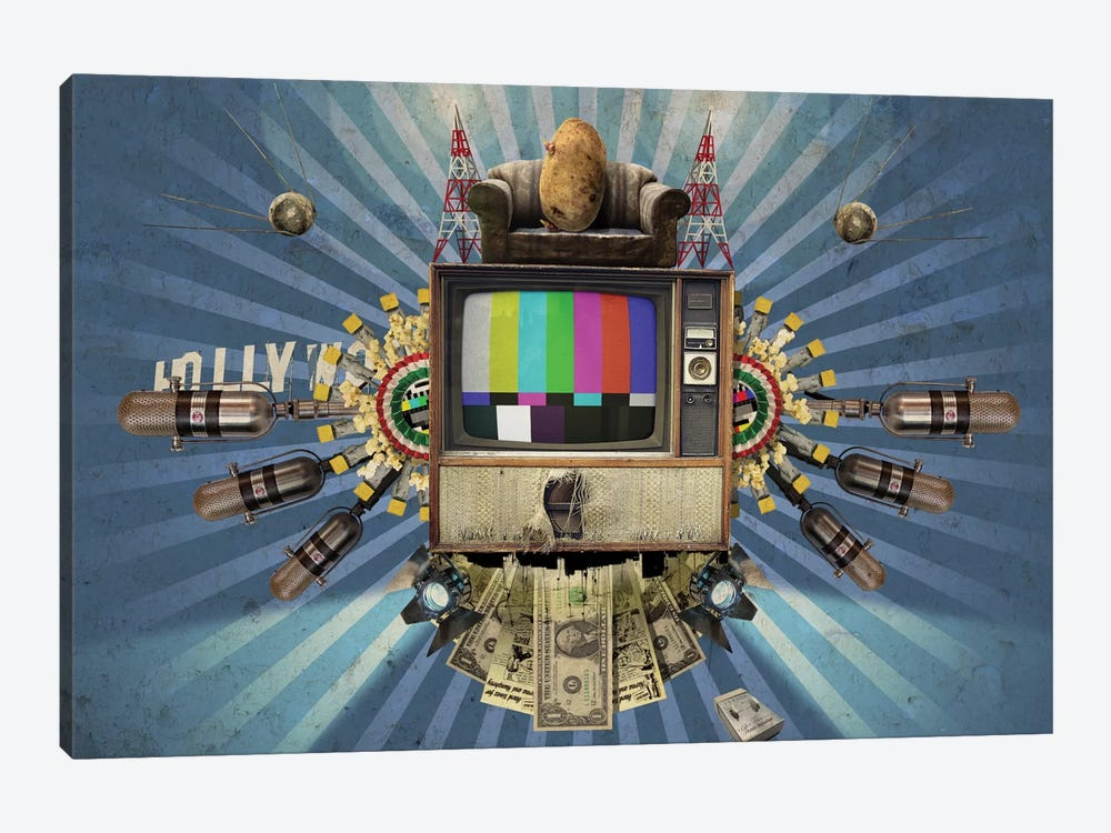 Television by Rob Snow 1-piece Art Print