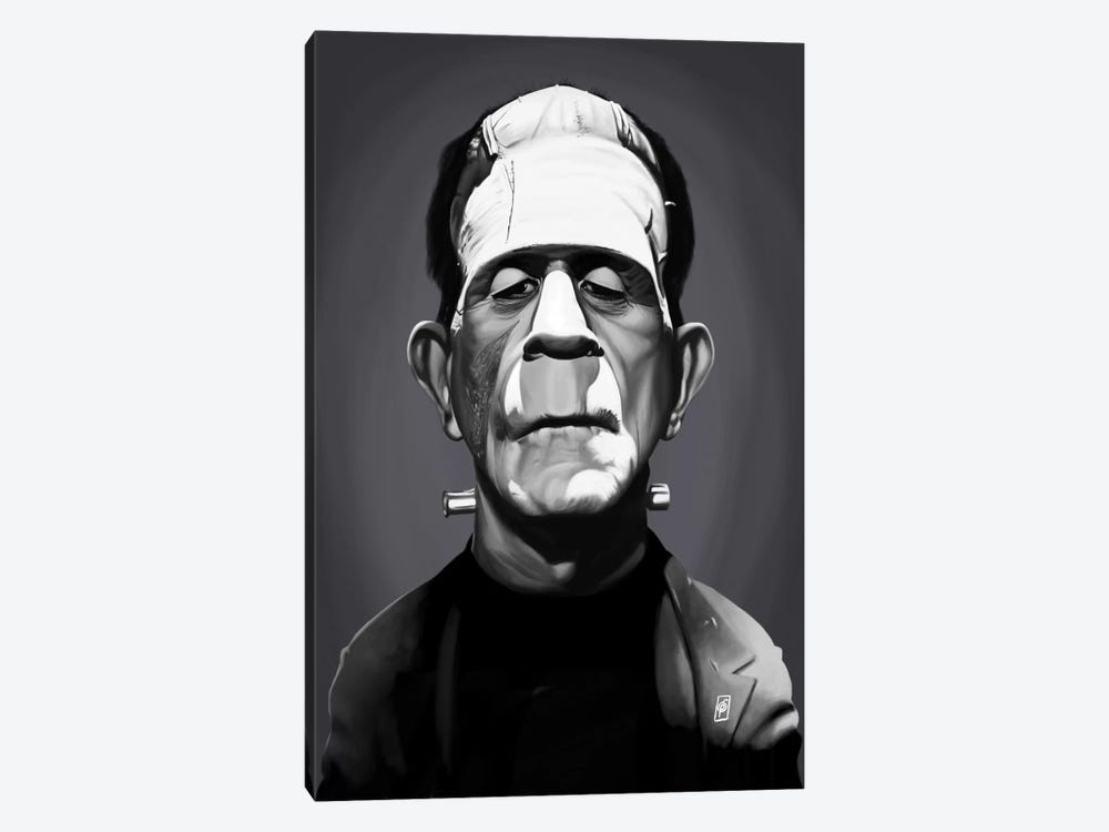 Boris Karloff by Rob Snow 1-piece Canvas Art