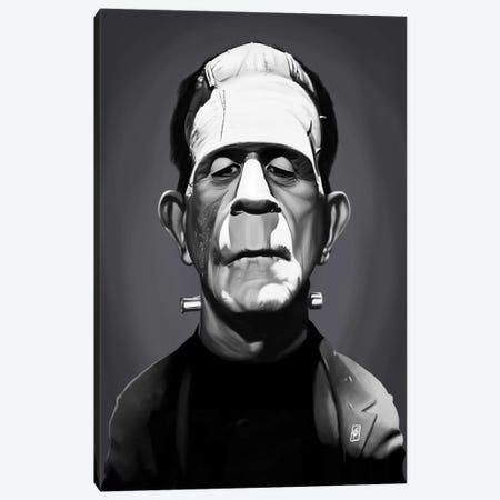 Boris Karloff Canvas Print #RSW240} by Rob Snow Canvas Art Print