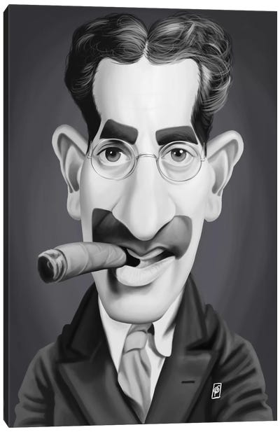Groucho Marx Canvas Art Print