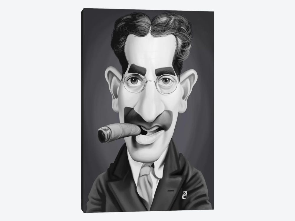 Groucho Marx by Rob Snow 1-piece Art Print