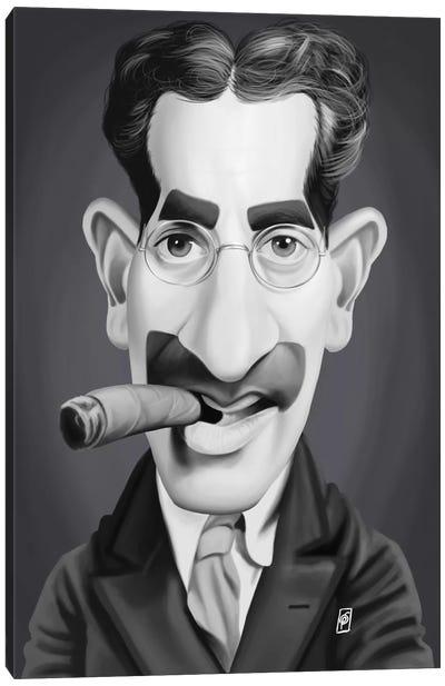 Groucho Marx Canvas Art Print