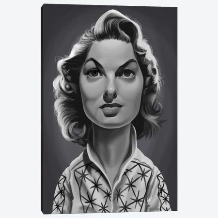 Ingrid Bergman Canvas Print #RSW242} by Rob Snow Canvas Art Print