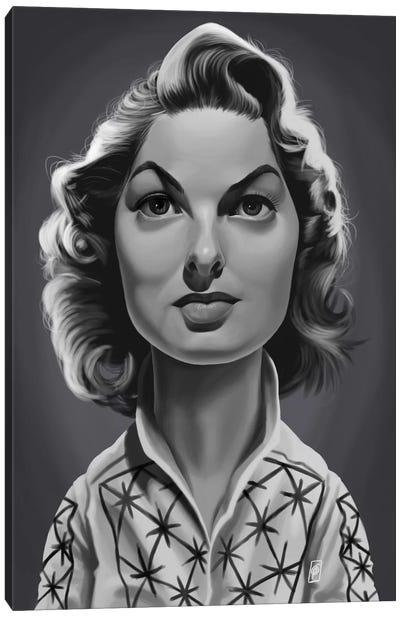 Ingrid Bergman Canvas Art Print