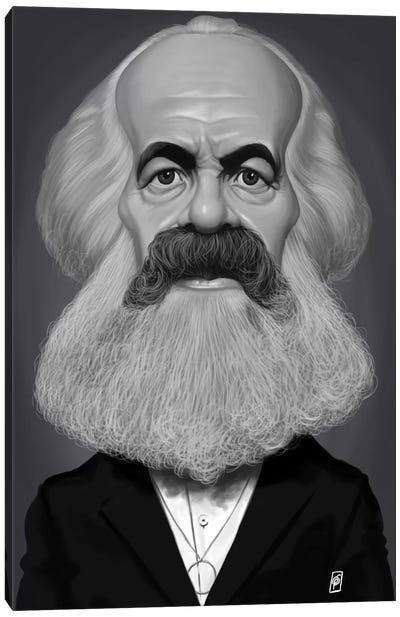 Karl Marx Canvas Art Print