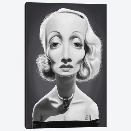 Marlene Dietrich Canvas Print #RSW244} by Rob Snow Canvas Art