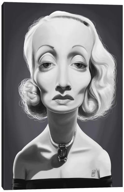 Marlene Dietrich Canvas Art Print