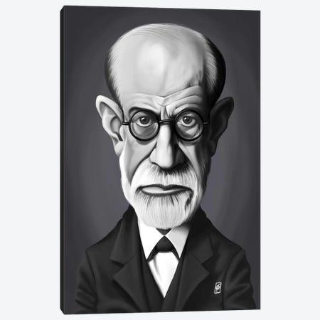 Sigmund Freud Canvas Print #RSW246} by Rob Snow Canvas Artwork