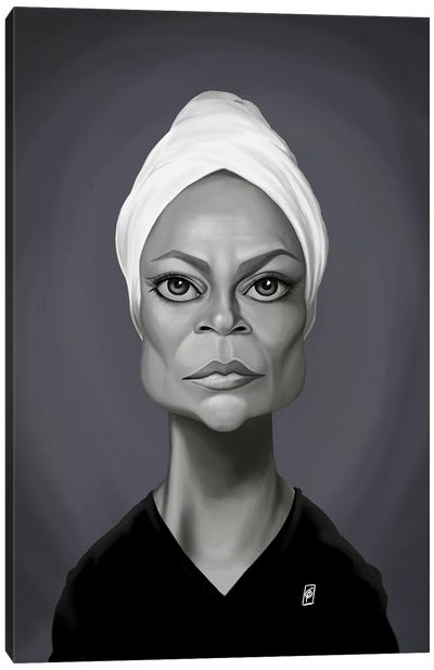 Eartha Kitt Canvas Art Print