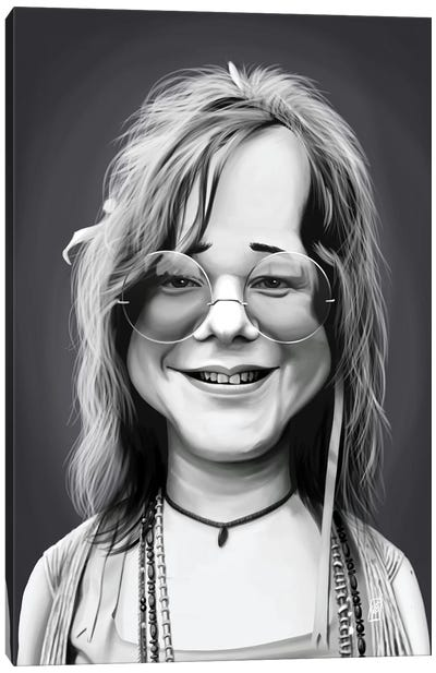 Janis Joplin Canvas Art Print
