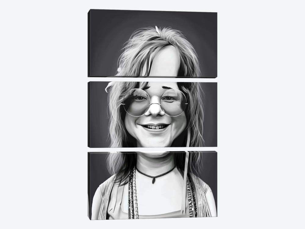 Janis Joplin by Rob Snow 3-piece Art Print