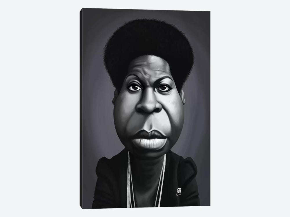 Nina Simone by Rob Snow 1-piece Canvas Artwork
