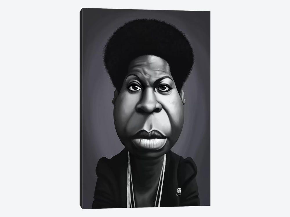 Nina Simone by Rob Snow 1-piece Canvas Artwork