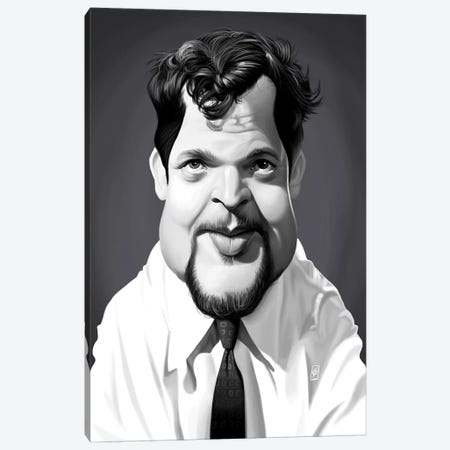 Orson Welles Canvas Print #RSW252} by Rob Snow Canvas Wall Art