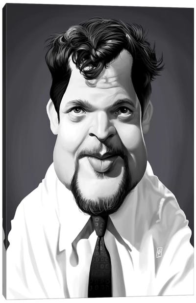 Orson Welles Canvas Art Print