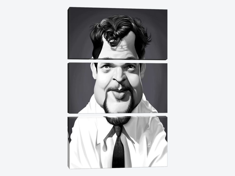 Orson Welles by Rob Snow 3-piece Canvas Print