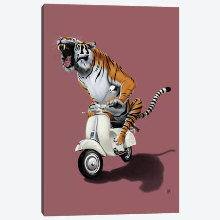 Rooooaaar! III Canvas Print #RSW25} by Rob Snow Canvas Artwork