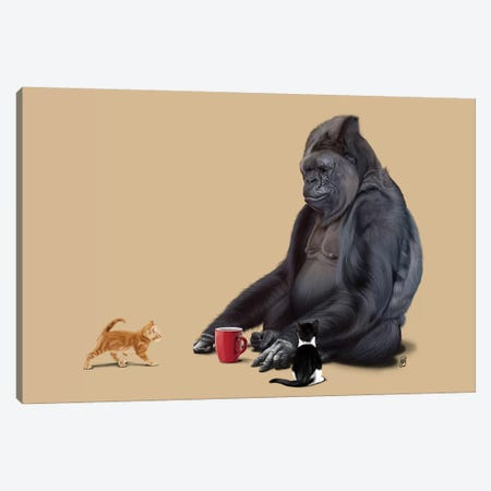 I Should Koko Canvas Print #RSW260} by Rob Snow Canvas Print
