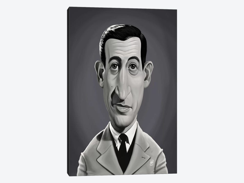 J.D. Salinger  by Rob Snow 1-piece Art Print