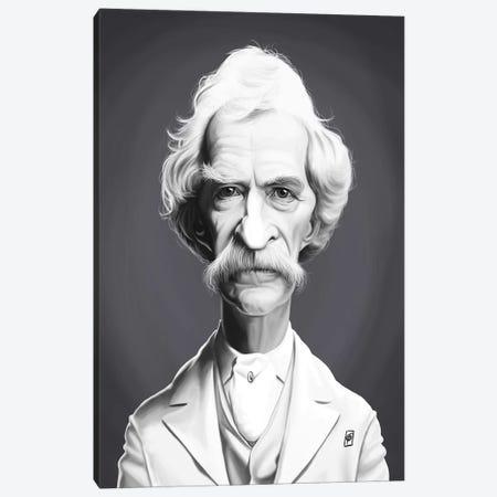 Mark Twain  Canvas Print #RSW263} by Rob Snow Canvas Print