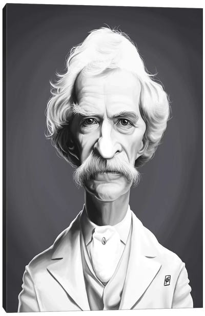 Mark Twain  Canvas Art Print