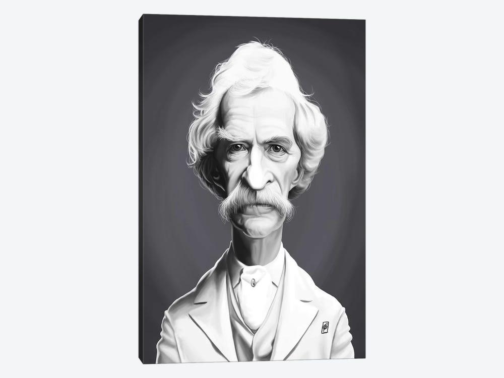 Mark Twain  by Rob Snow 1-piece Art Print